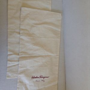 Salvatore Ferragamo Pair of Shoe Dust/Sleeper bags